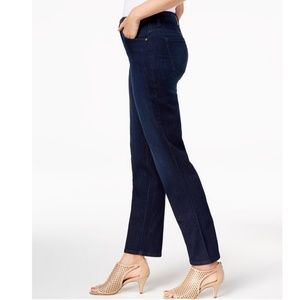 Style & Co Jeans - STYLE & CO high rise straight-leg jeans